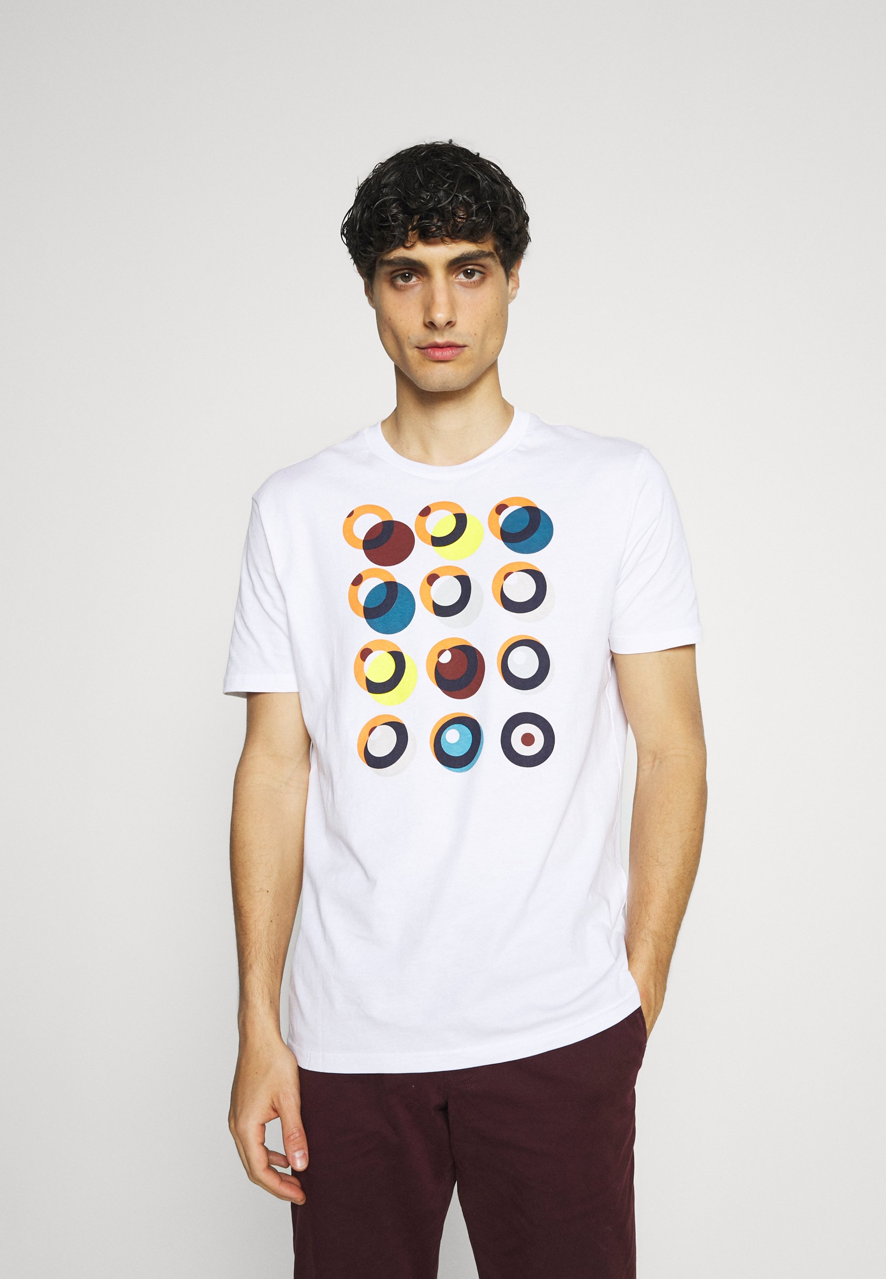 Men TARGET CONSTRUCTION TEE - Print T-shirt