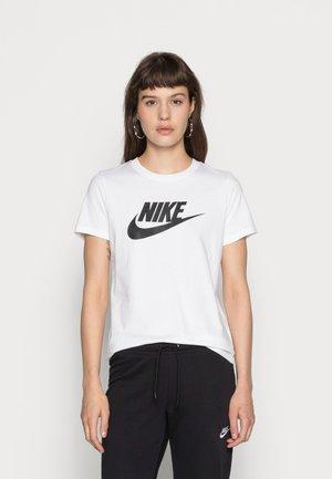 TEE ICON FUTURA - Print T-shirt - white/black