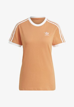 STRIPES TEE - T-shirts med print - hazy copper