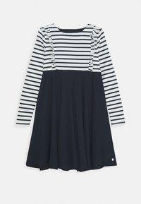 Petit Bateau - LOULA ROBE - Jersey dress - marshmallow/smoking - 0