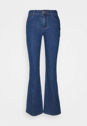 Široké džíny - denim