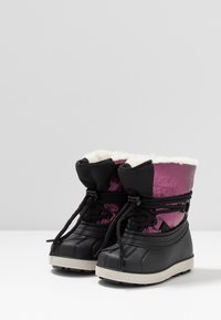 Friboo - Winter boots - black/berry - 3