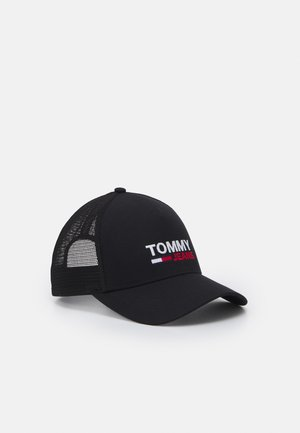 FLAG TRUCKER UNISEX - Keps - black