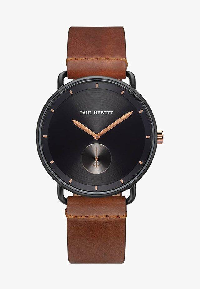 BREAKWATER - Watch - brown/black