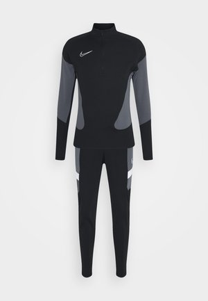 DRY ACADEMY SUIT - Trainingsanzug - black/black/white/white