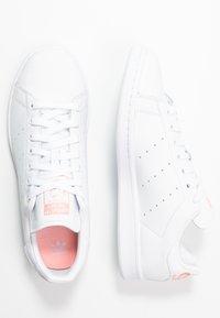 adidas Originals - STAN SMITH - Trainers - footwear white/glow pink - 3