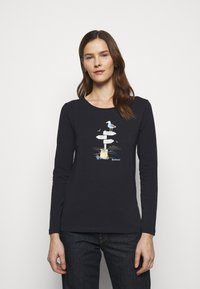 Barbour - SEAGRASS TEE - Long sleeved top - navy - 0