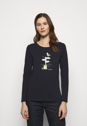 SEAGRASS TEE - Long sleeved top - navy