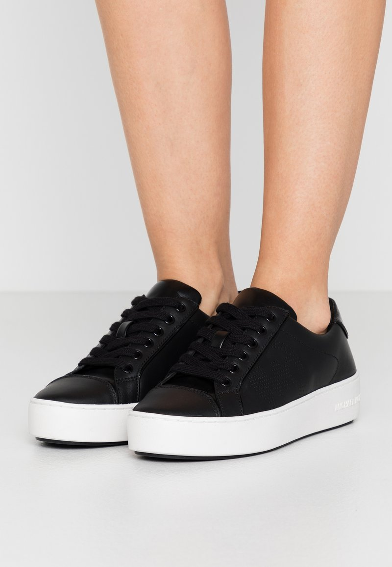 MICHAEL Michael Kors - KIRBY LACE UP - Trainers - black