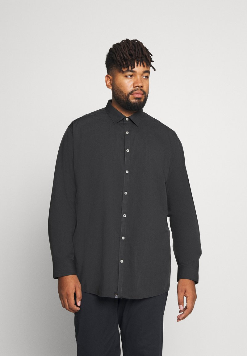 Jack´s Sportswear - FIL A FIL SHIRT BOX COMFORT FIT - Skjorta - dark grey