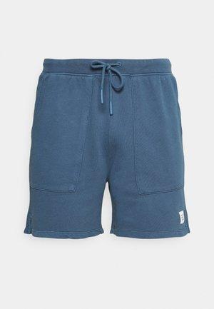 FRONT POCKETS BACK POCKET - Shorts - grayish petrol