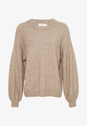 ANGHACR - Jumper - taupe gray melange
