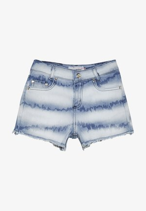 GIRLS HIGH WAIST SHORT - Džínové kraťasy - denim