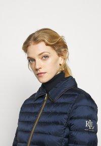 Lauren Ralph Lauren - MATTE FINISH SHORT JACKET - Light jacket - navy - 4