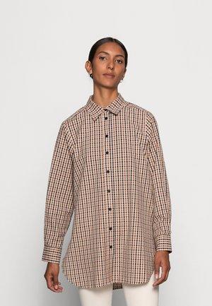 KASSIAS - Button-down blouse - bison