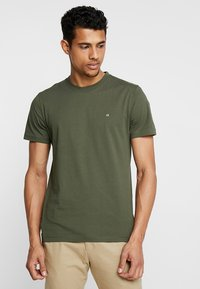 Calvin Klein - LOGO - T-shirt basic - green - 0