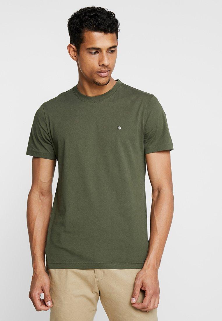Calvin Klein - LOGO - T-shirt basic - green