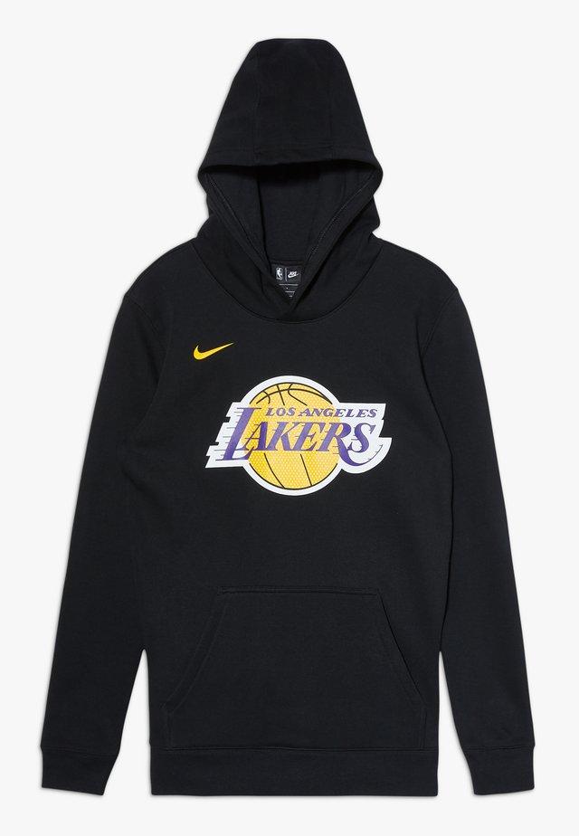 NBA LOS ANGELES LAKERS HOODIE LOGO - Hoodie - black