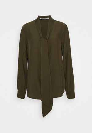 LADIES - Long sleeved top - khaki