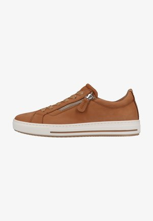 Sneakers laag - cuoio