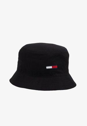 FLAG BUCKET HAT - Klobouk - black