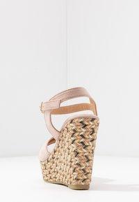 Anna Field - Korolliset sandaalit - rose - 5