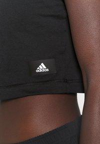 adidas Performance - RECCO CROP TEE - Triko spotiskem - black - 5
