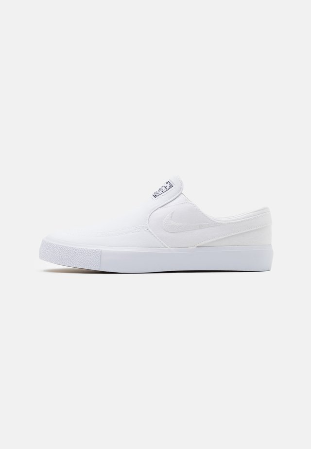 JANOSKI  - Slipper - white/light brown