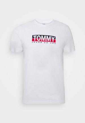 CONTRAST UNISEX - Print T-shirt - white