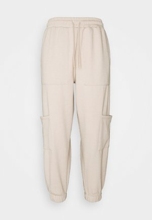 UTILITY JOGGER - Tracksuit bottoms - stone