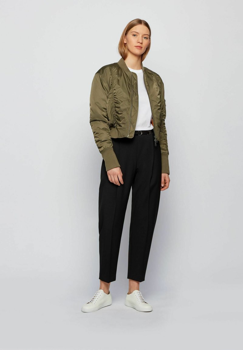 BOSS - Bomber Jacket - khaki