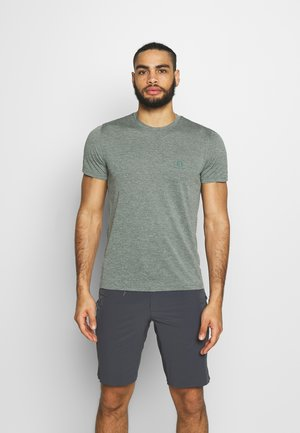 EXPLORE TEE - T-shirt con stampa - balsam green