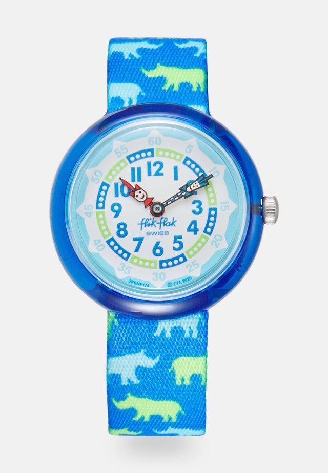 RHINOFEROCE UNISEX - Uhr - blue
