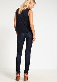 edc by Esprit - HIGH SKIN PANTS DENIM - Slim fit jeans - dark-blue denim - 2