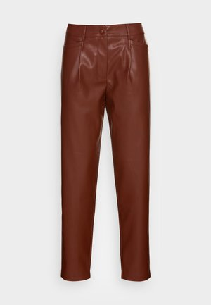 HARLEY ANKLE - Trousers - brown