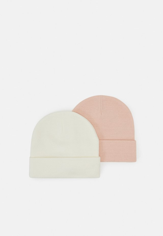 VMMARAN BEANIE 2 PACK - Beanie - birch/chintz rose
