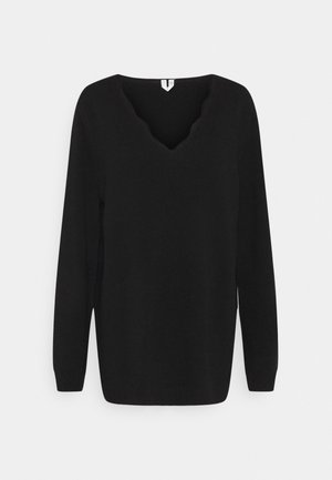 PULLOVER - Jumper - black