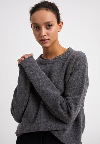DARIAA   - Jumper - mid grey melange