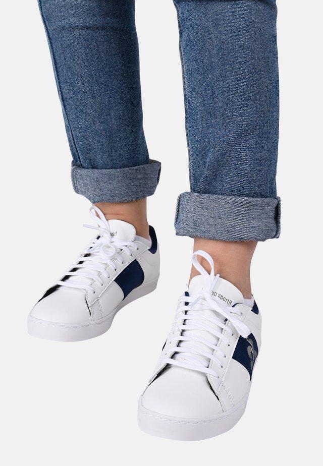 """ELSA - Sneakersy niskie - """"white/navy blue"""""""