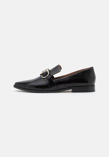 ALIA - Nazouvací boty - noir