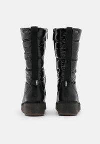 Tamaris - BOOTS - Śniegowce - black - 3