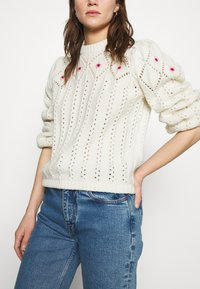 Notes du Nord - TALLY - Jumper - winter white - 3