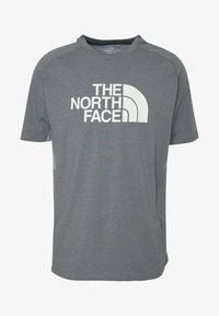The North Face - MENS WICKER GRAPHIC CREW - Print T-shirt - medium grey heather/white - 3