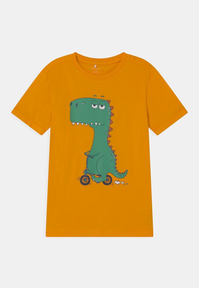 Name it - NKMBUGOS - Print T-shirt - flame orange
