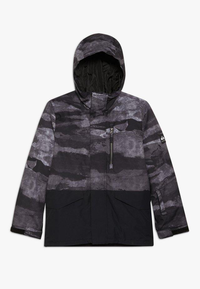 MISS BLOC - Snowboardová bunda - black matte
