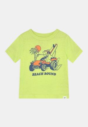 TODDLER BOY - T-shirt print - superlime