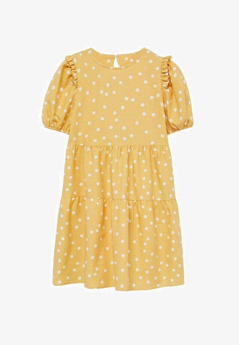 Mango - Day dress - mosterd