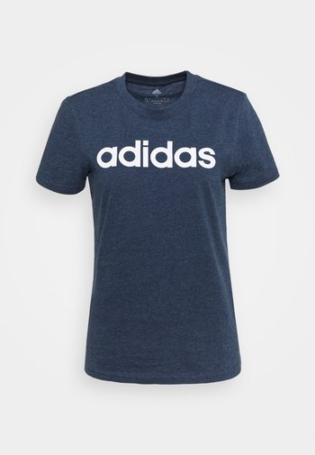 T-shirts med print - crname/white