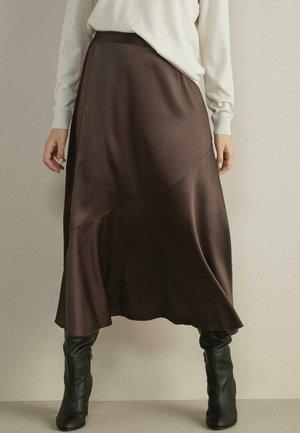 A-line skirt - moka
