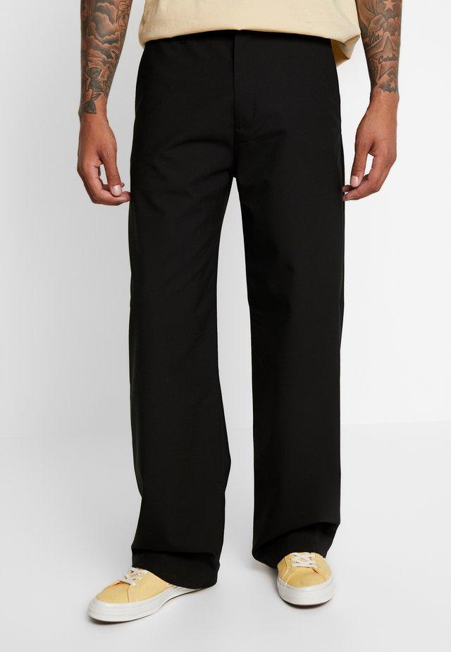 WIND TROUSER - Pantalon classique - black
